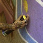 jak odstranit graffiti z fasády