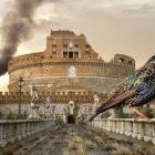 """Temná znamení v Římě: Hejna jsou mrtvá. Tanec na Boží oslavu se letos nekoná? Špačci doprovázejí křesťany po tisíciletí. Trest se blíží. Opuštění víry s Bergogliem u kormidla dokonáno. Bude """"Věčné město"""" zničeno?"""